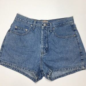 Vintage Guess High Waisted Washed Jean Shorts